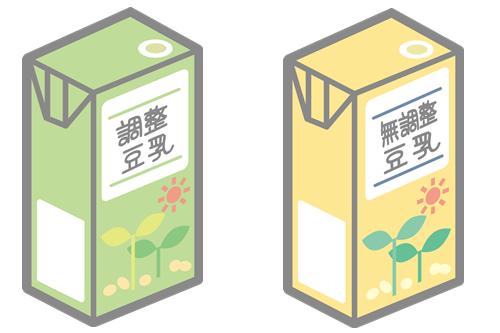 豆乳には調整と無調整がある!どんな違いがあるの?使い分け方は?