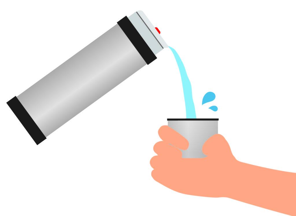 節約に大活躍!水筒のゴムパッキンについたカビを自宅で除菌する方法